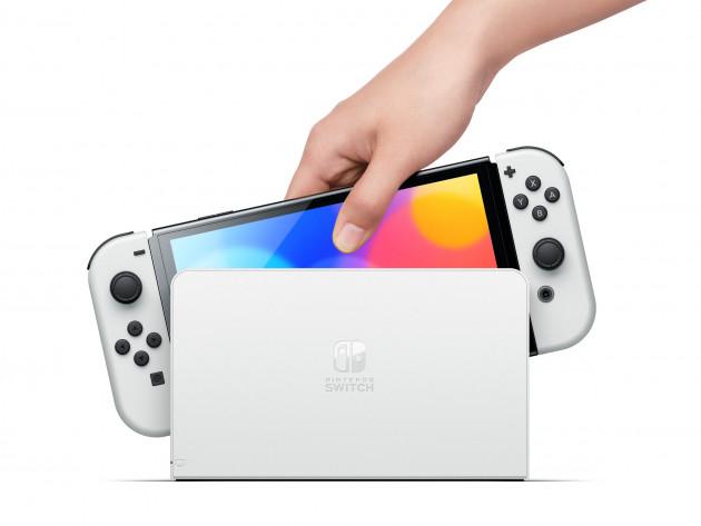 Konzole Nintendo Switch OLED model - White