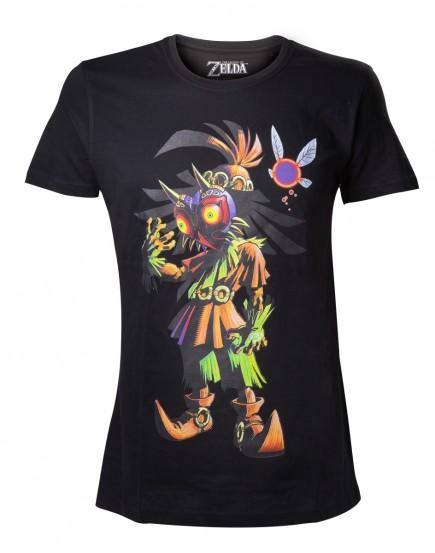 Tričko The Legend of Zelda - Majoras Mask Skull Kid (velikost L)