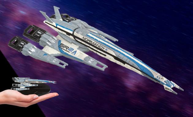 Model lodi Mass Effect 3 - Normandy SR-2 (Remaster)