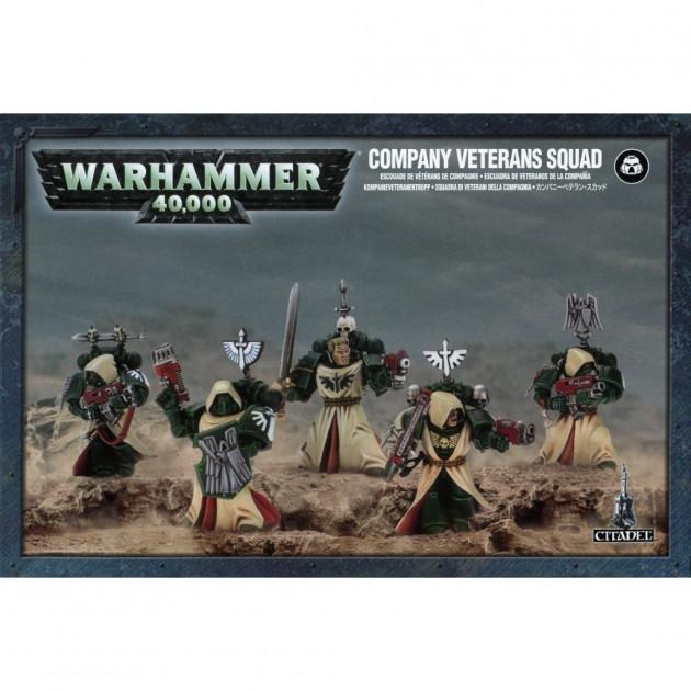W40k: Dark Angels: Company Veterans Squad (5 figurek)