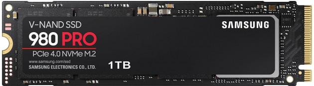 SSD disk pro konzoli PlayStation 5 - Samsung SSD 980 PRO 1TB + chladič
