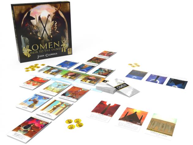 Karetní hra Omen: Heir to the Dunes