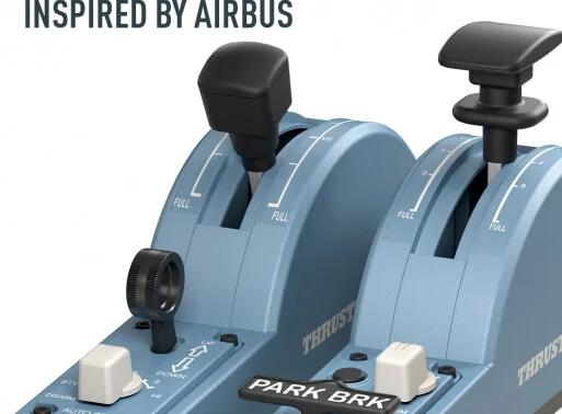 Páka Thrustmaster TCA QUADRANT ADD-ON AIRBUS EDITION (PC)