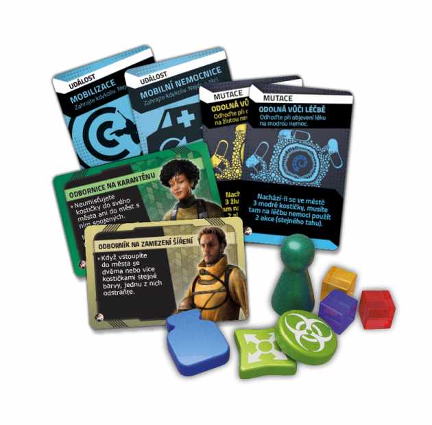 Desková hra Pandemic: Epicentrum – Evropa