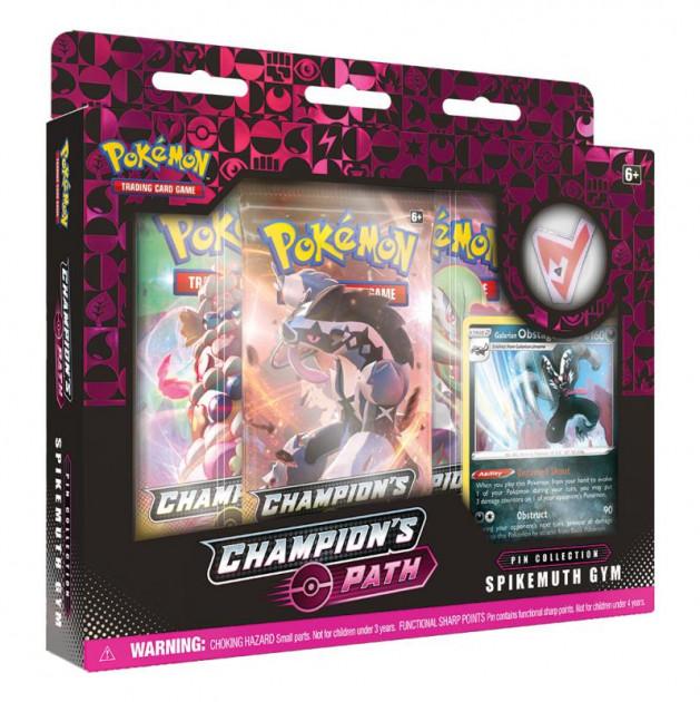 Karetní hra Pokémon TCG: Champion's Path - Pin Collection (Spikemuth Gym)