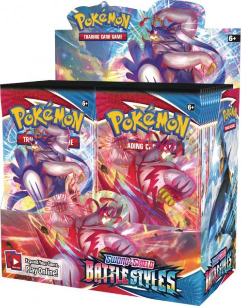Karetní hra Pokémon TCG: Sword and Shield Battle Styles - booster (10 karet)