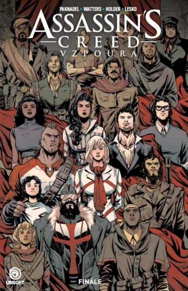 Komiks Assassins Creed: Vzpoura 3 - Finále