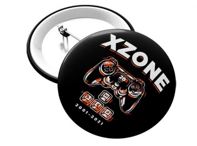 Odznak Xzone - 20 let