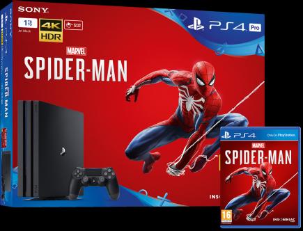 Konzole PlayStation 4 Pro 1TB + Spider-Man (PS4)