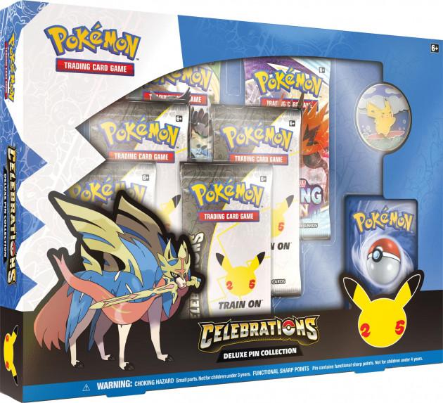 Karetní hra Pokémon TCG: Celebrations - Deluxe Pin Box