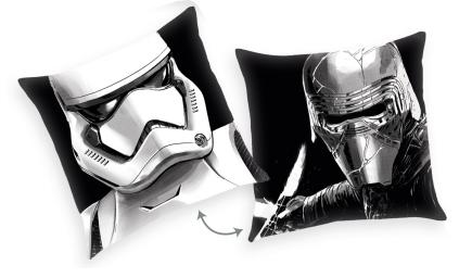 Polštář Star Wars - Kylo Ren/Stormtrooper