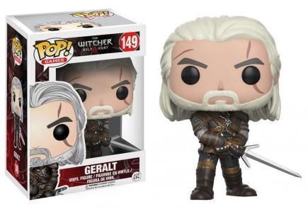 Figurka Zaklínač - Geralt (Funko POP! Games 149)