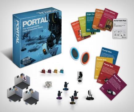 Desková hra Portal: Nespolečenská hra o sbírání dortů CZ
