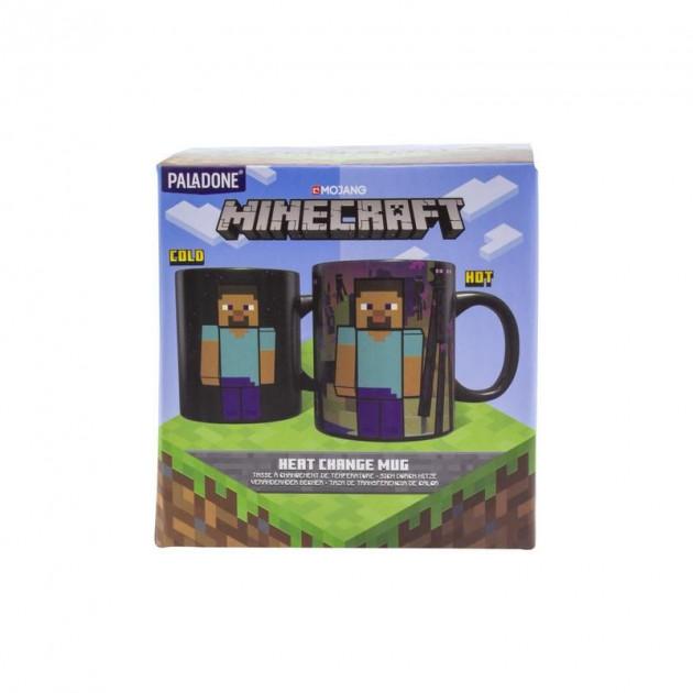 Hrnek Minecraft - Enderman (měnící se)