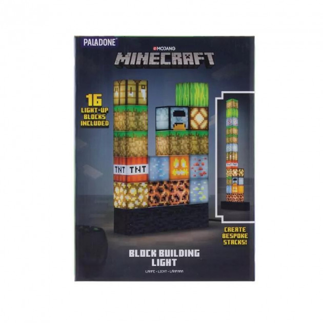 Lampička Minecraft - Block Building Light