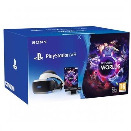 PlayStation VR v3 + kamera + VR Worlds