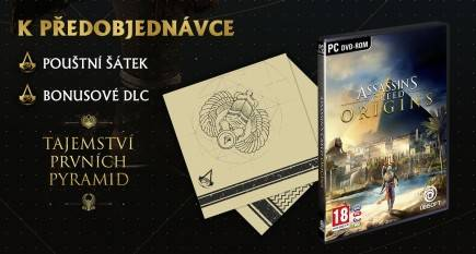Assassins Creed: Origins + Šátek