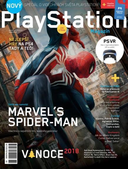 Časopis PlayStation Magazín 2/2018