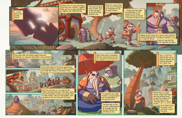 Komiks World of Warcraft - Pearl of Pandaria