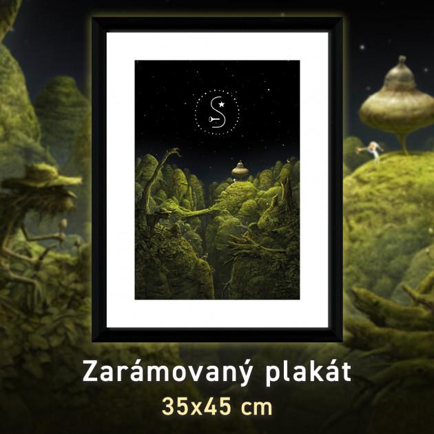Zarámovaný plakát Xzone Originals - Samorost 3