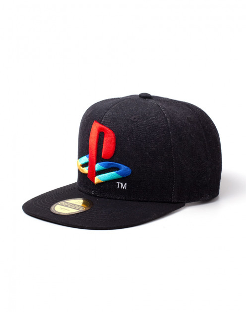 KÅ¡iltovka PlayStation - Denim Logo