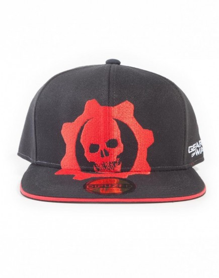Kšiltovka Gears of War - Red Helmet Snapback