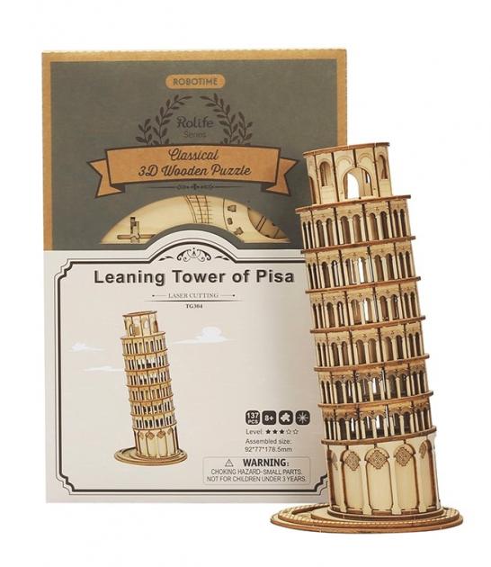 Stavebnice - Šikmá věž v Pise (dřevěná)