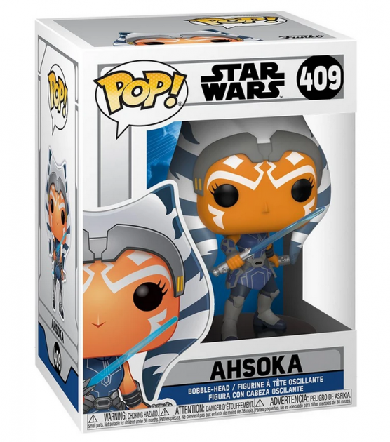 Figurka Star Wars: Clone Wars - Ahsoka (Funko POP! Star Wars 409)