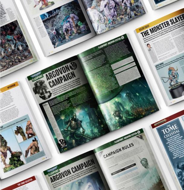 časopis White Dwarf 2020