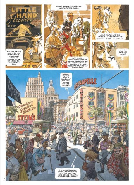 Komiks BLACKSAD: The Collected Stories
