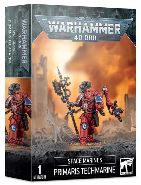 W40k: Space Marines Primaris Techmarine (1 figurka)
