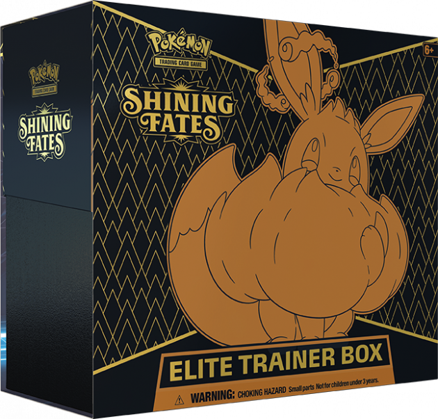 Pokémon TCG: Sword and Shield Shining Fates Elite Trainer