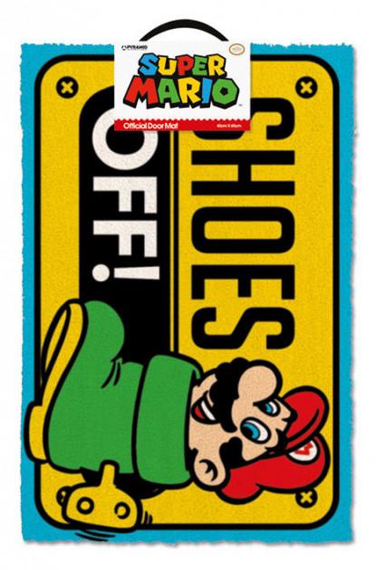 Rohožka Mario - Shoes Off!