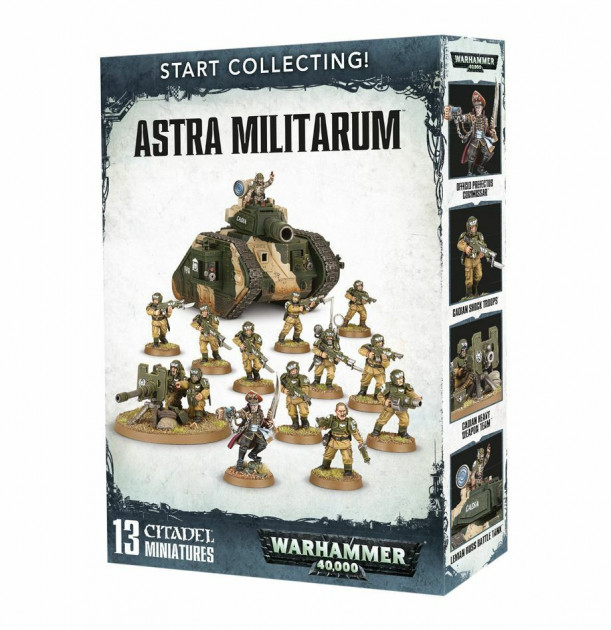 W40k: Start Collecting Astra Militarum (13 figurek)