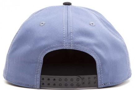 Uncharted - Skull Logo Snapback Cap - Cobalt/Brown