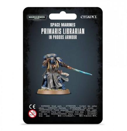 Figurka Warhammer 40000 - Primaris Librarian in Phobos Armour
