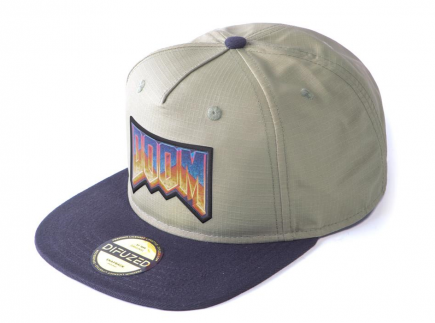 Kšiltovka Doom: Eternal - Retro Logo Snapback