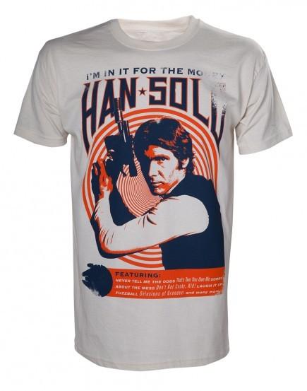 Tričko Star Wars - Han Solo Vintage Rock Poster (velikost L)