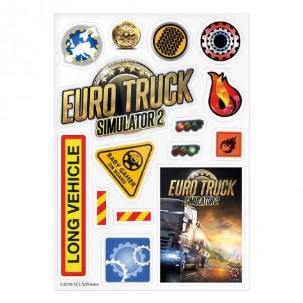 Samolepky Euro Truck Simulator