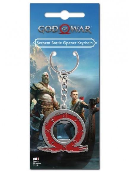 Klíčenka God of War - Serpent (otvírák na láhve)