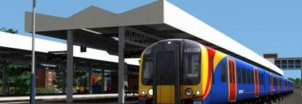 vlakový simulátor
