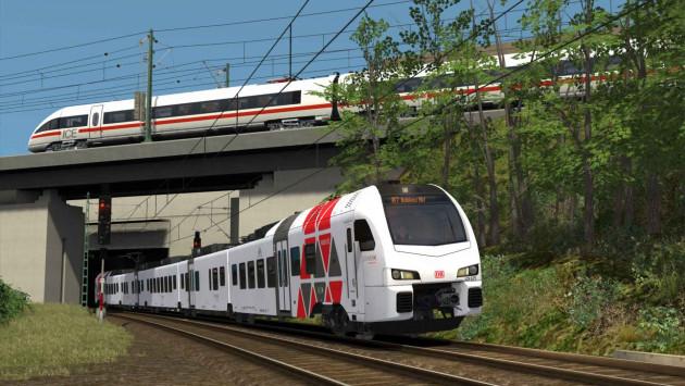 simulátor vlaků