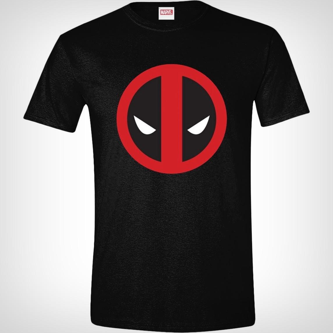 Tričko Deadpool Logo S Xzone Cz Jdeme Hr 225 čům Naproti