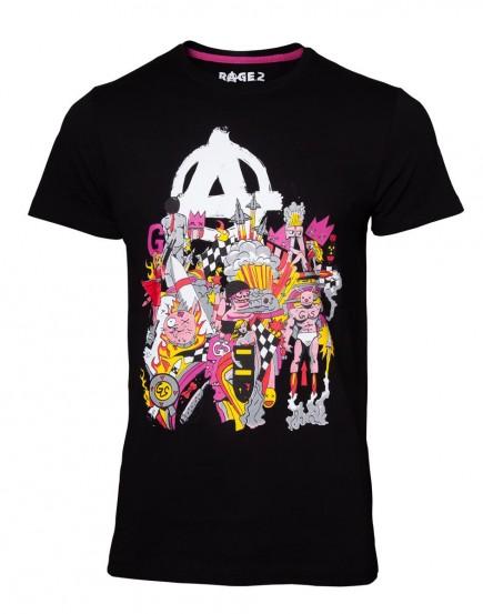Tričko Rage 2 - The Squad (velikost M)