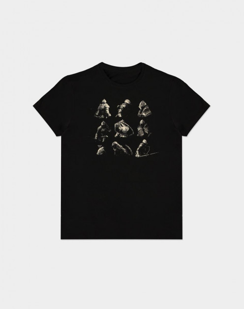 Tričko Demon's Souls - Knight Poses (velikost XXL)