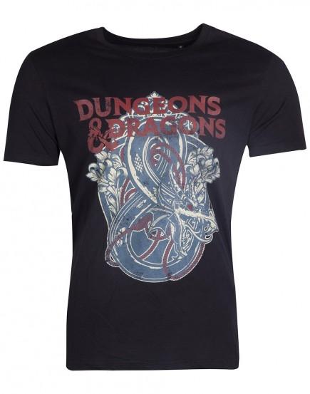 Tričko - Dungeons & Dragons (velikost M)