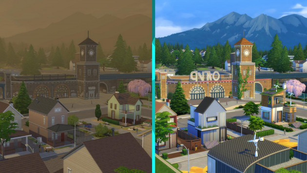 The Sims 4: Ekobydlení
