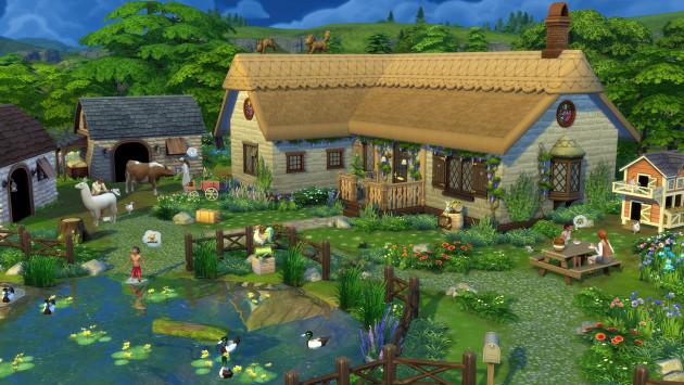 The Sims 4: Život na venkově