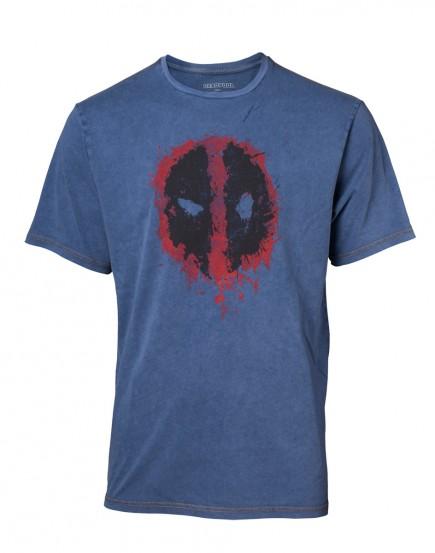 Tričko Deadpool - Faux Denim (velikost M)