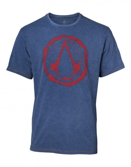 Tričko Assassins Creed - Faux Denim Logo (velikost XXL)